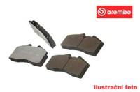 Brembo sportovní desky přední TOYOTA Corolla -- 1.8i 16V (AE102) - rok výroby 5.92-4.97