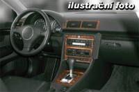 decor interiéru Toyota Corolla -všechny modely rok výroby 07.92 - 08.97 -7 dílů přístrojova deska/ středová konsola