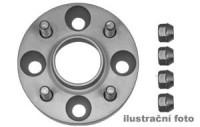 HR podložky pod kola (1pár) TOYOTA Avensis rozteč 100mm 5 otvorů stř.náboj 54,1mm -šířka 1podložky 25mm /sada obsahuje montážní materiál (šrouby, matice)