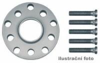 HR podložky pod kola (1pár) TOYOTA Avensis rozteč 100mm 5 otvorů stř.náboj 54,1mm -šířka 1podložky 15mm /sada obsahuje montážní materiál (šrouby, matice)